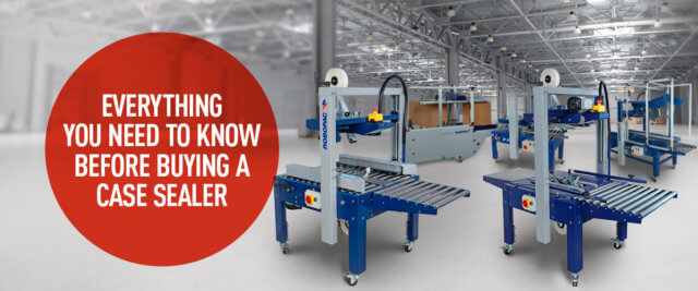 Case Sealers: 6 Factors to Consider When Choosing Equipment