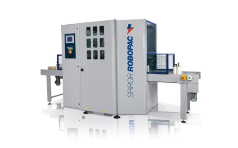 Spiror HP 300 horizontal wrapper from Robopac