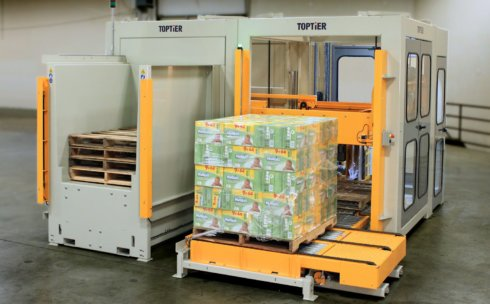 L-7 conventional palletizer from TopTier