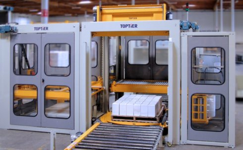TT-L20 conventional palletizer from TopTier